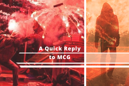Reply to MCG